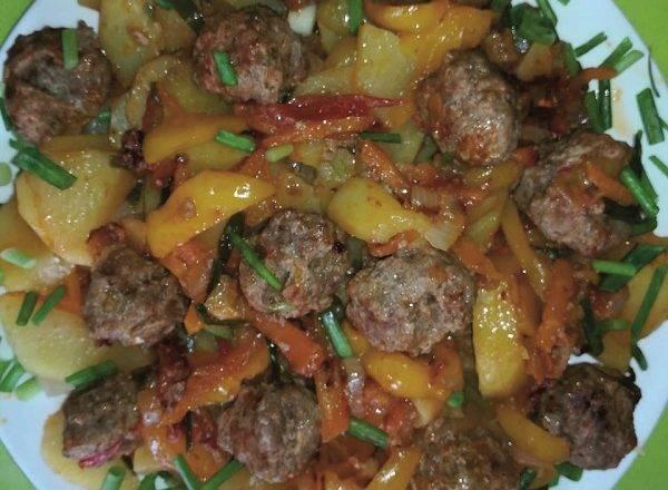 Рецепт фрикаделек в томатном соусе - 9 пошаговых фото в рецепте