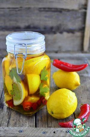 Лимон - рецепты