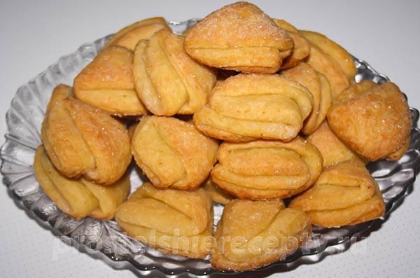 Рецепты печенье гусиные лапки