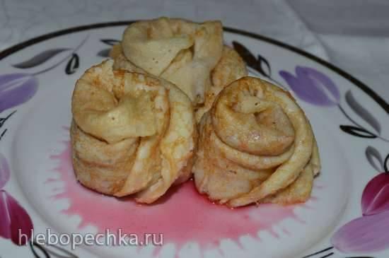 Картофельные розочки с начинкой