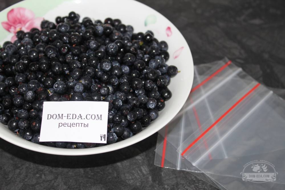 Черника, перетертая с сахаром: лучшие рецепты на зиму с фото