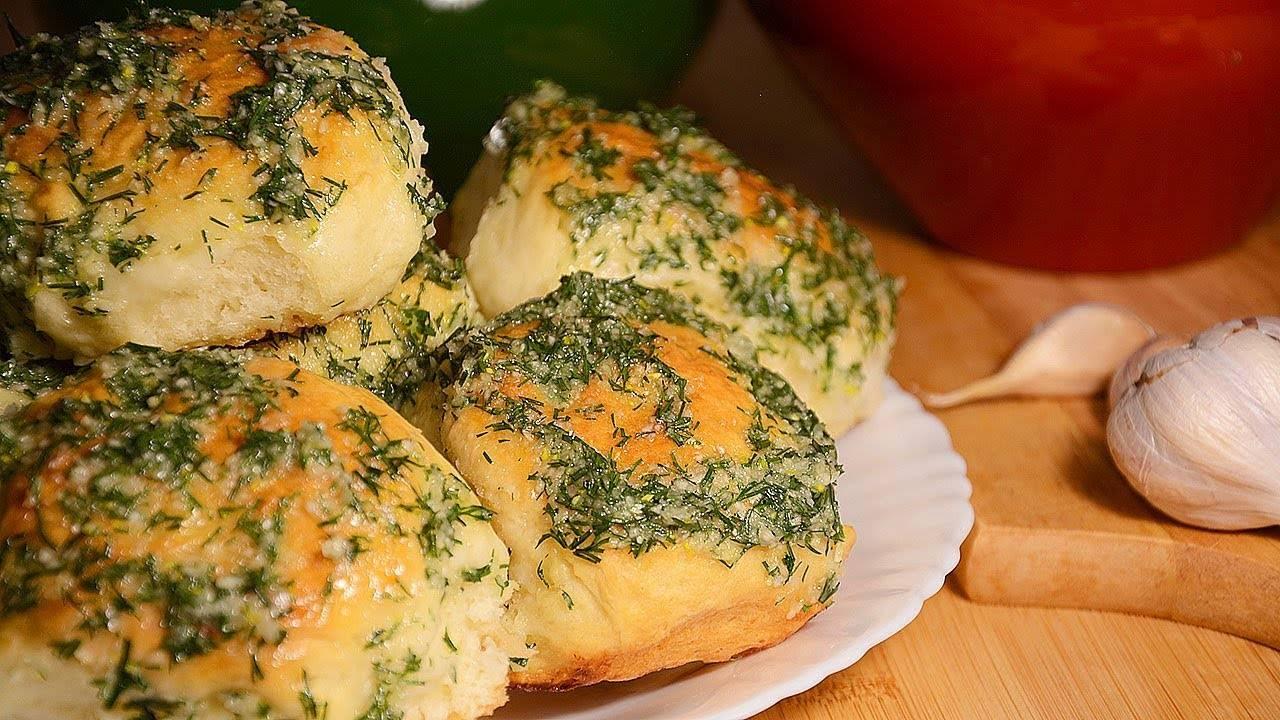 Чесночные булочки из дрожжевого теста: 10 рецептов чесночной заливки