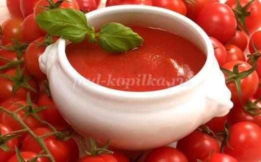 Как приготовить вкусный кетчуп