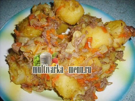 Картошка с тушенкой в мультиварке, рецепт с фото: раскрываем вопрос