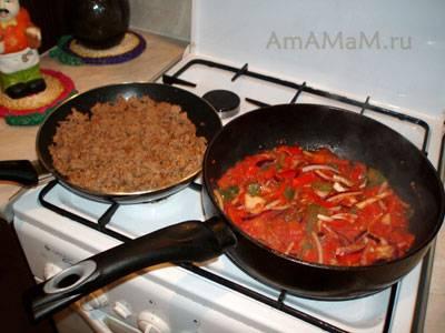 Чили кон карне - ингредиенты для мексиканского блюда и пошаговые рецепты приготовления с фото