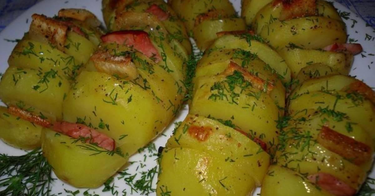 Картошка «гармошка» - вкуснейшее блюдо для торжественного стола!