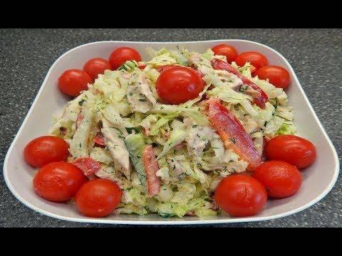 Рецепт салата с курицей: топ 7