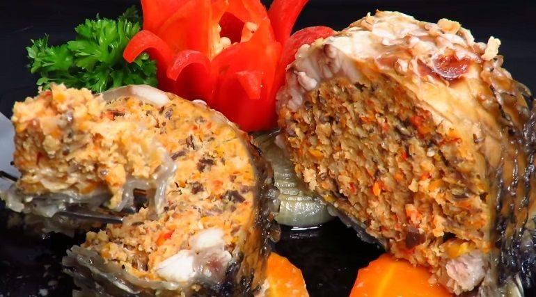 Фаршированная рыба - рецепты с фото. как приготовить красную и речную по-еврейски в духовке