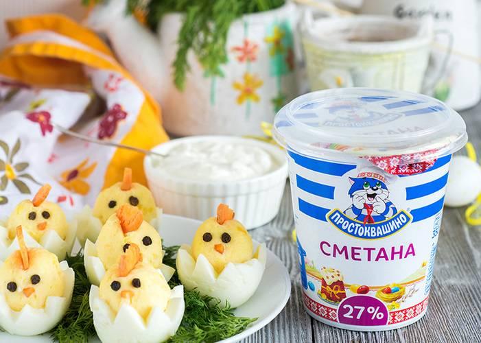 Фаршированные яйца цыплята простой домашний рецепт пошагово с фото