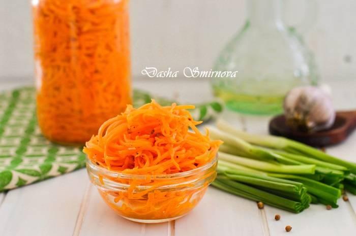 Салат с фасолью и корейской морковью: легкие рецепты с фото