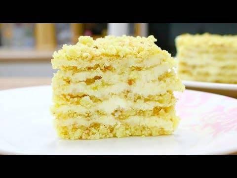 Легкий лимонный десерт без выпечки за 15 минут
