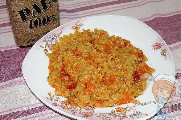 Запеканка рисовая с ягодами и фруктами
