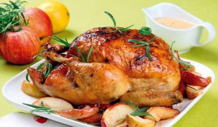 Сочная курица с хрустящей корочкой