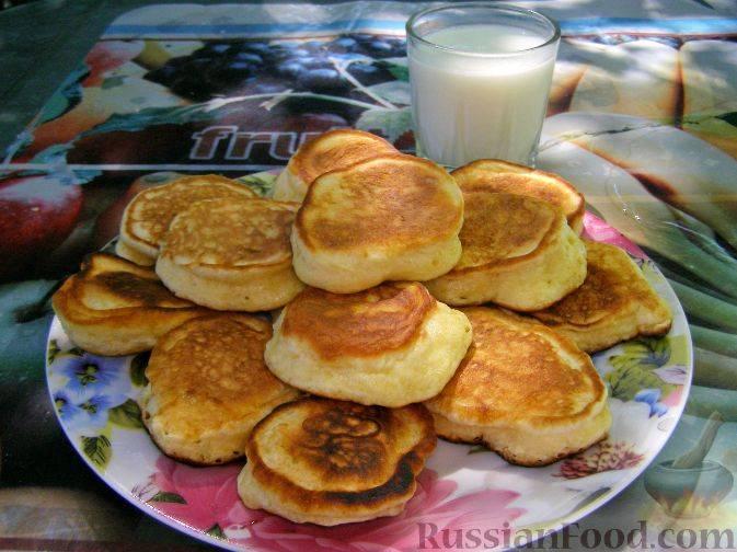 Рецепт оладушек на простокваше - 6 пошаговых фото в рецепте