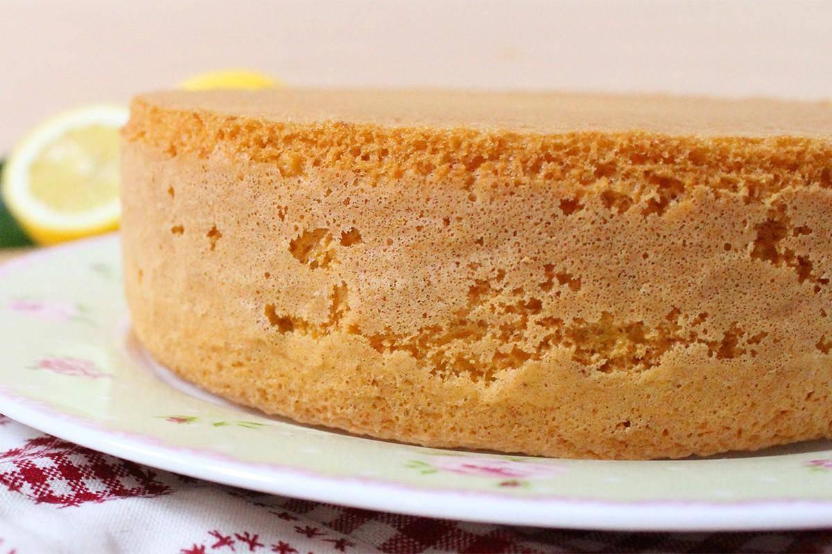 Бисквит на кефире