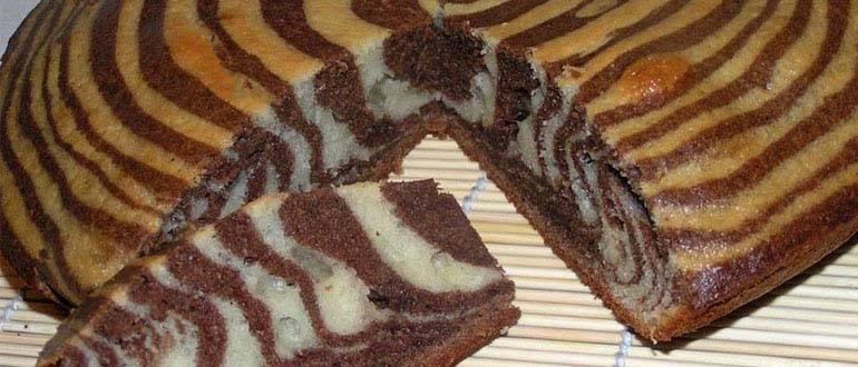 "Торт ""веселая зебра"""