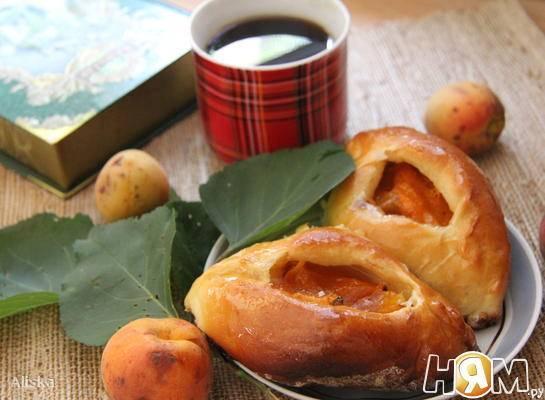 Пирожки с абрикосами - рецепт с фотографиями - patee. рецепты