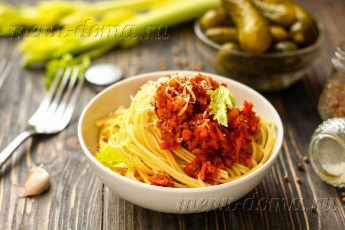 Вкуснейшая паста болоньезе: рецепты в домашних условиях