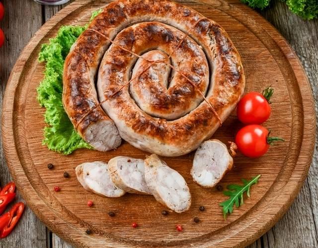 Домашняя колбаса: 2 рецепта в духовке. пошаговые фото