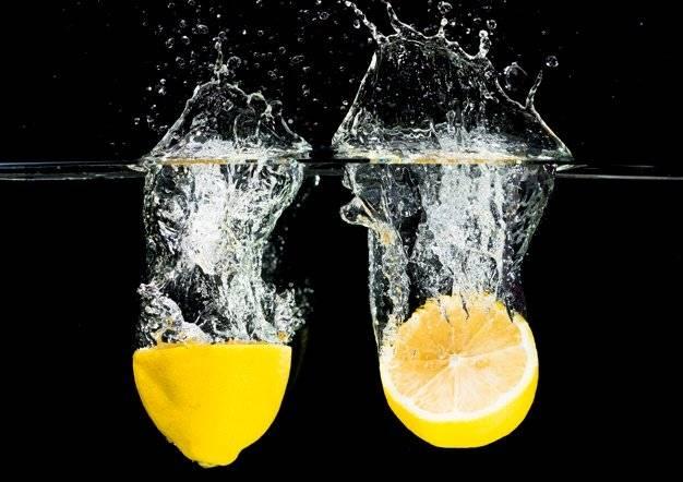 Базиликовый лимонад с лимоном