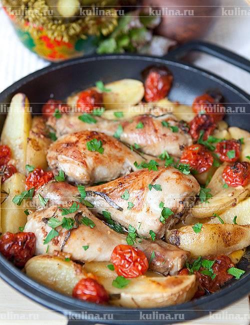 Куриные бёдра в тесте в духовке - 11 пошаговых фото в рецепте