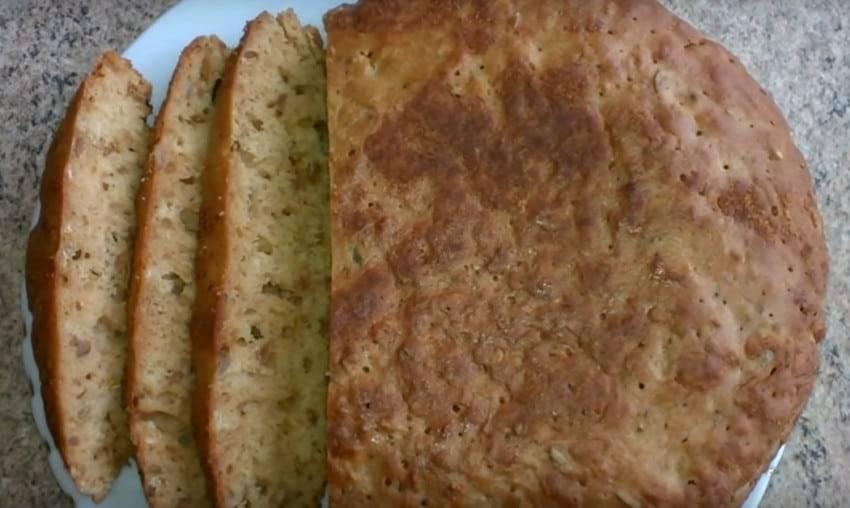 Кукурузно-пшеничный хлеб в духовке, рецепт с фото