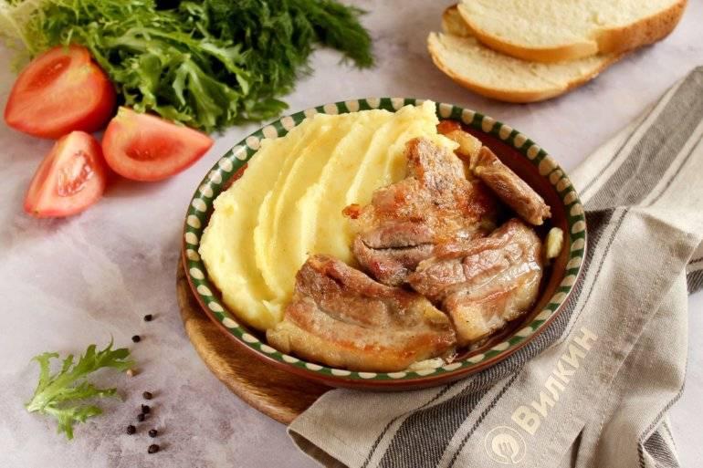 Рецепт картофельного пюре с молоком и маслом - 8 пошаговых фото в рецепте
