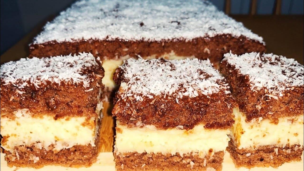 Бисквитный торт с заварным кремом - 15 пошаговых фото в рецепте