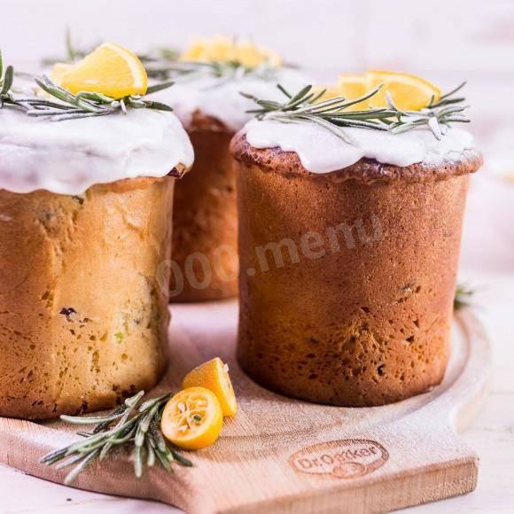 Итальянский кекс с рикоттой и миндалем