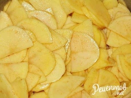 Как приготовить куриные бедра в картофельном кольце? пошаговый рецепт с фото.