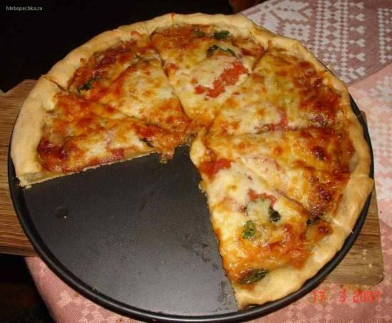 Как сделать тесто для пиццы в хлебопечке?