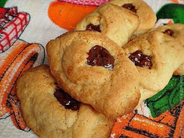 """Печенье """"сластена"""" с марципаном - 12 пошаговых фото в рецепте"""