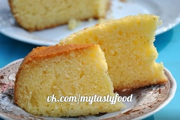Лимонно-лаймовый торт