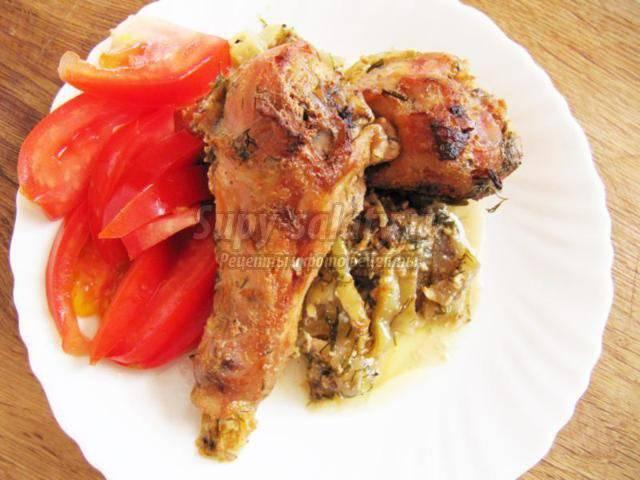 Куриные ножки в духовке – 10 вкусных пошаговых рецептов