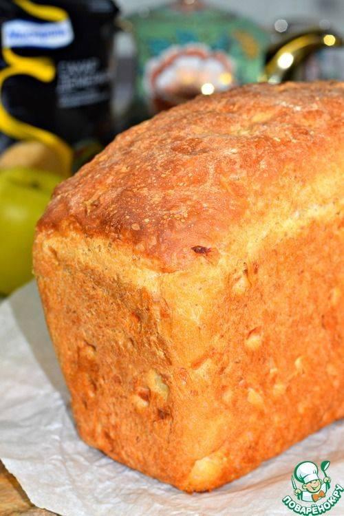 Хлеб с яблочным пюре