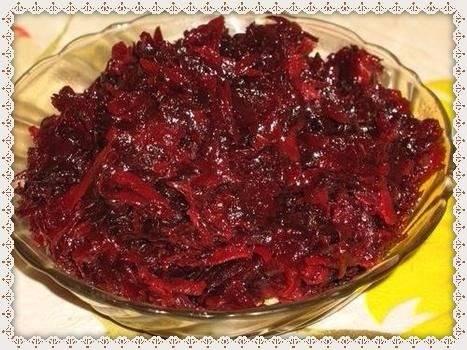 Икра из свёклы - простая и вкусная овощная закуска или гарнир
