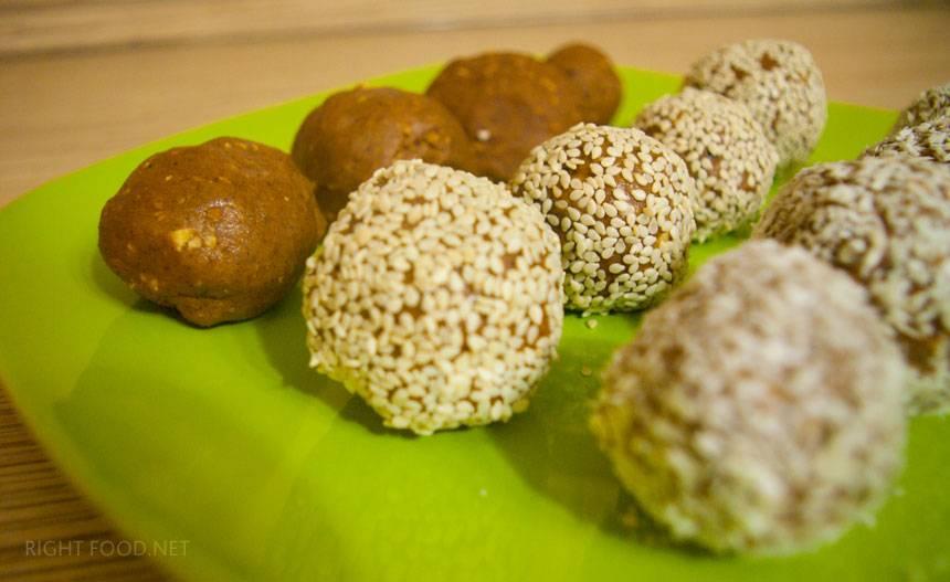Рецепт: ладу - настоящие индийские сладости | первый вегетарианский