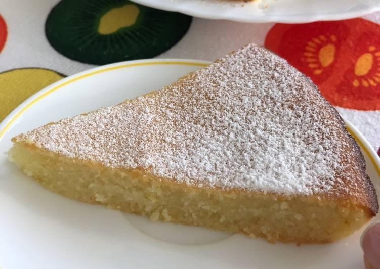 Лимонный манник на кефире - 8 пошаговых фото в рецепте