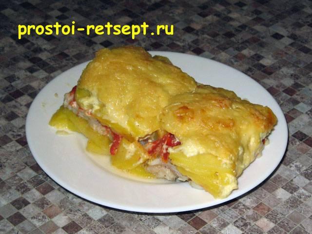 Филе пангасиуса в духовке в фольге — рецепт с фото на webspoon.ru