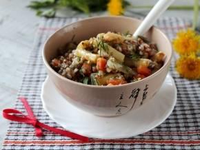 Гречка с фасолью (консервированной, стручковой): рецепты