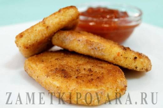 Жареный адыгейский сыр (в панировке, с помидорами): рецепты