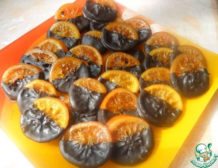 Цукаты из апельсина. рецепт пошагово в шоколаде с мякотью в домашних условиях