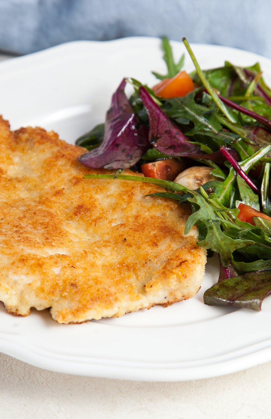 Филе тилапии в сырной панировке - 9 пошаговых фото в рецепте