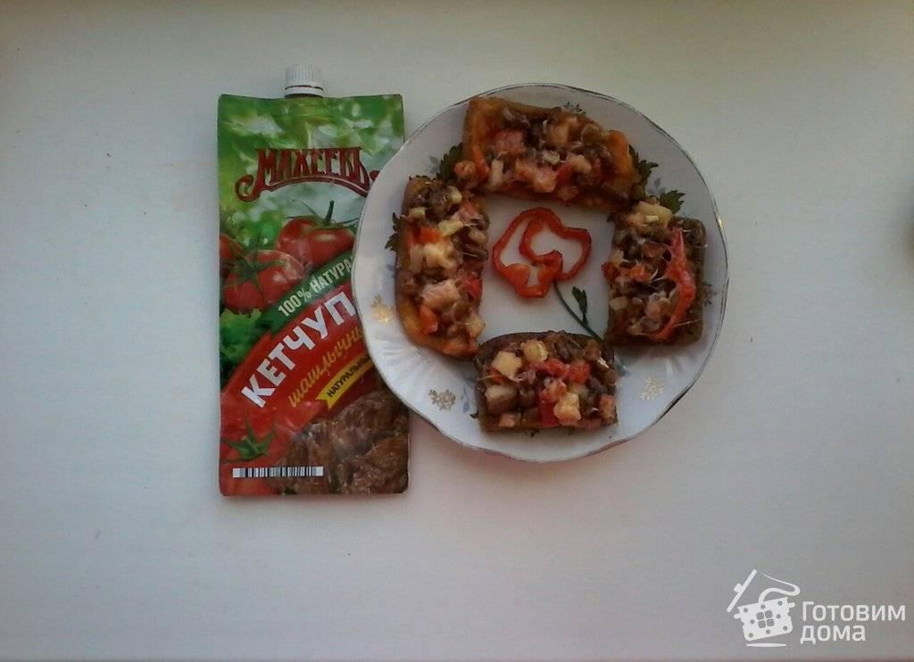 Омлет с тунцом и стручковой фасолью