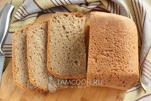 Хлеб с отрубями в хлебопечке рецепт