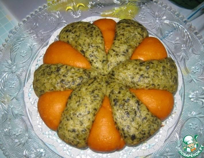 Хлебная запеканка со шпинатом и сыром