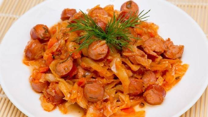Тушеная капуста — лучшие рецепты. как быстро и пошагово приготовить тушеную капусту