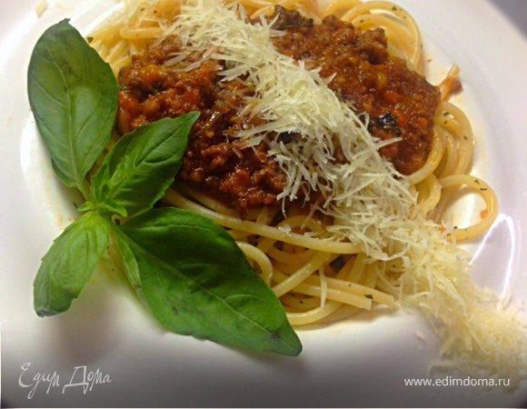Паста с фаршем по-итальянски. рецепт с фото пошагово карбонара, болоньезе, с сыром, курицей, грибами