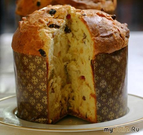 Итальянский розмариновый кекс