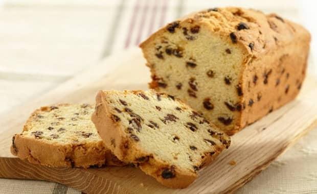 Кекс с изюмом для хлебопечки